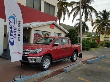 The 2019 Toyota Hilux Model with push to start. Photo: Provided