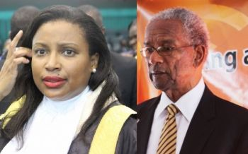 Speaker of the House, Hon Ingrid A. Moses (left) has been criticised for allowing the House of Assembly to fall into disrepute. Right: There is a dark cloud looming over today's, March 31, 2016, sitting as the ruling National Democratic Party (NDP) Administration of Premier Dr The Honourable D. Orlando Smith struggles to pass the Budget. Photo: VINO/File