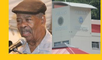 Former Chief Minster and Premier of the Virgin Islands Hon Ralph T. O'Neal OBE (left) remains a patient at Peebles Hospital, however, preparations are reportedly underway to take him overseas for enhanced medical treatment. Photo: VINO/File