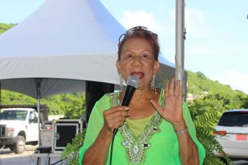 President of the VI Horse Owners Association, Mrs Patsy C. Lake has been advocating for Pari-Mutual Wagering to be introduced in the Virgin Islands. Photo: VINO