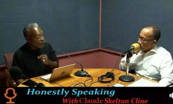 Speaking as a guest on the show, 'Honestly Speaking' with host Cromwell Smith aka 'Edju En Ka' filling in for Mr Claude O. Skelton-Cline, Mr Farara implored that while it is the right time to revisit constitutional reform, the territory has much more important issues. Photo: Facebook