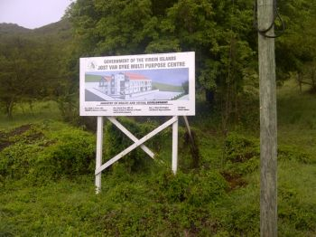 Residents of Jost Van Dyke are still awaiting the community centre promised to them some years ago and said its construction would be beneficial to them in many ways especially by using it to facilitate training programmes for both young and old. Photo: VINO