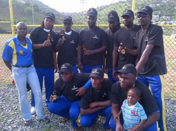 As they are popularly called 'Vincey' continue to keep the sport of cricket alive in the VI. Photo: Provided