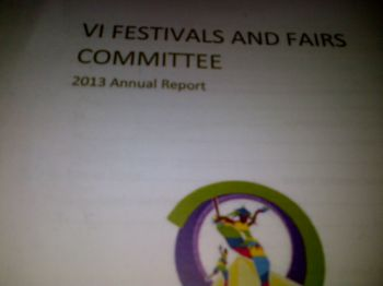 Yet another controversial Festival and Fairs Committee Report has been laid on the Table of the House of Assembly. Photo: VINO