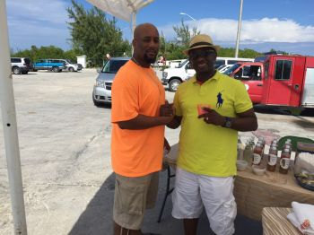 Mr Skelton (left) and My Wintz at Lobster Fest 2014. Photo: Provided