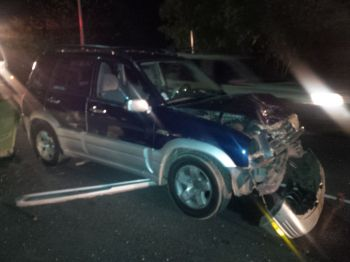 The drivers of the vehicles are said to have suffered minor injuries. Photo: VINO