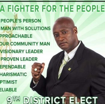 The Ready Committee will be in action in Virgin Gorda on Monday May 11, 2015 for the campaign launch of Ninth District Candidate, Elton L. Sprauve aka All Out. Photo: VINO