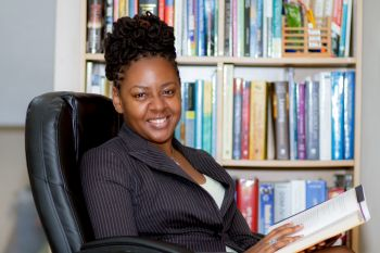Now reading for her Doctorate in Psychology, Mrs Wheatley-Peters is highly achieved academically. Photo: Provided