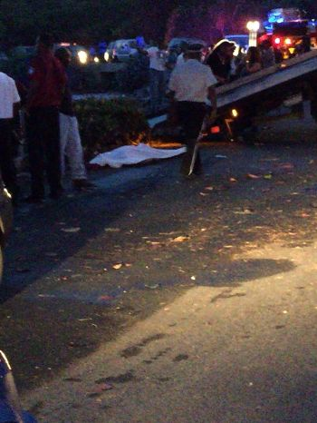 The man has reportedly succumbed following the accident. Photo: Team of Reporters