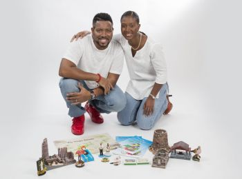 Kareem-Nelson Hull and his sister Virgin Islands attorney at law and author Ayana S. Hull are the principals of the new business. Photo: Provided