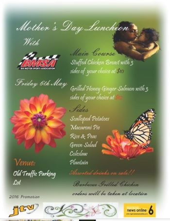The Association's next fundraising event will be their Mother's Day luncheon which will be on Friday May 6, 2016 at the Old Traffic Parking Lot in the Purple club van. Photo: Provided