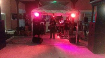 Young and upcoming band Contra Band entertaining the crowd on April 16, 2016. Photo: Provided