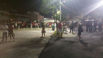 The Block Party on DeCastro Street in Road Town last night, July 2, 2016 saw a number of persons in attendance. Photo: VINO