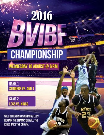 The poster for the BVIBF League Championships 2016. Photo: Provided
