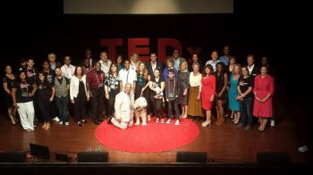Some of the participants of the TEDx Wilmington Conference in Delaware on August 24, 2016. Photo: Provided