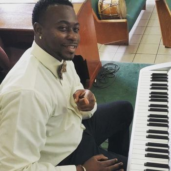 Jacob E. Edwards has a love affair with the piano! Photo: Provided