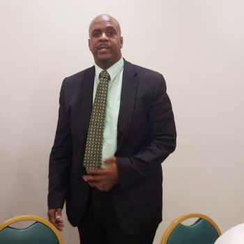 New Chairman of the Virgin Islands Party (VIP), Hon Andrew A. Fahie (R1) following his election victory on November 30, 2016. Photo: Team of Reporters