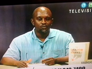 Mr Julio S. Henry on Open Mic on CBN Channel 51 on January 11, 2017. Photo: VINO