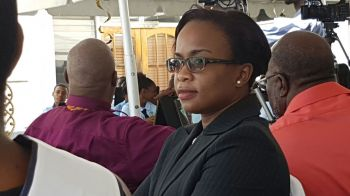 Magistrate Ayanna O. Baptiste-DaBreo in late 2016 sentenced Mrs Violet 'Letty' Hodge to six years imprisonment and slapped her with a $100,000 fine. Photo: VINO/File