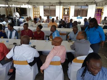 The Royal Virgin Islands Police Force (RVIPF) held a Luncheon Ceremony at the Road Town Police Station on Monday February 27, 2017 to recognise its 50th Anniversary as an independent constabulary. Photo: VINO