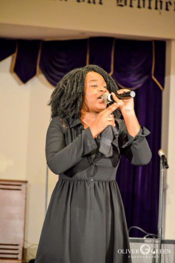 In 2016 Ishika T. Z. Charles-Dowridge placed in the top 3 in a Christian based competition called America Got Anointing. Photo: Provided