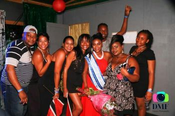 Miss Caribbean Feaster 2017, Delene Fayola Reyes with her support team. Photo: TWF