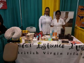 Peter Island Resort and Spa is also represented at the 2017 Buy BVI Trade Show. Photo: VINO