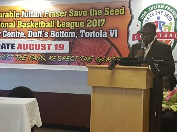 Co-Founder of the Hon Julian Fraser Save the Seed League Hon Julian Fraser RA (R3) has said every team will have a chance of winning the league. Photo: VINO