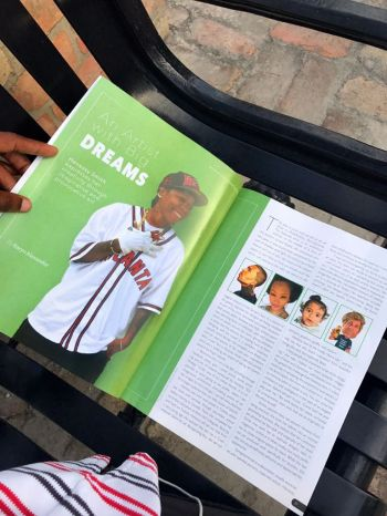 Henessy 'Kid Prodigy' Smith was featured in the Welcome BVI Magazine during the July to August issue. Photo: Provided