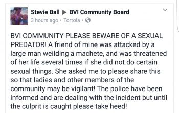 A post made on Facebook by an alleged friend of the victim. Photo: Facebook