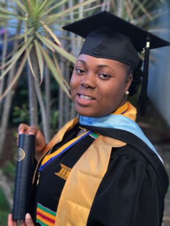 Rochelle S. Frett studied Elementary Education at H. Lavity Stoutt Community College (HLSCC) and holds a degree in Mathematics from the University of the Virgin Islands. Photo: Provided