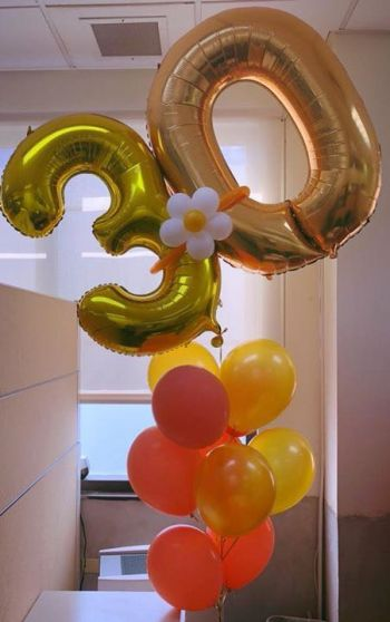 An anniversary balloon bouquet by Shermel S. Maduro. Photo: Provided