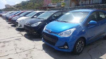 Some of the cars being sold under the 'March Madness' promotion at Tortola Auto Group (TAG). Photo: Provided