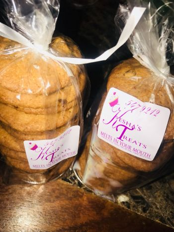 Scrumptious cookies from Kesha's Treats. Photo: Provided