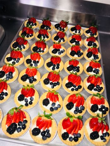 More delicious pastries baked by Pastry Chef, Lakesha M. Barry. Photo: Provided