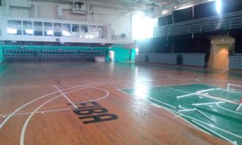 Inside the Multi-Purpose Sports Complex on March 27, 2018 after occupants of the shelter were relocated. Photo: VINO
