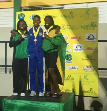 Elinah Phillip is aiming for a third medal at the 2018 Carifta Swimming Championships in Jamaica. Photo: Provided