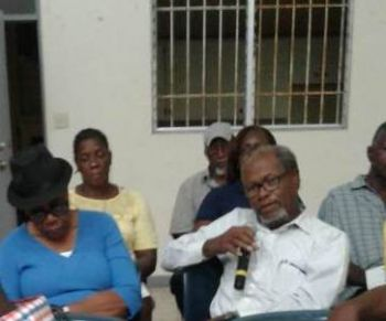 Many residents raised concerns about the service and cost of the National Health Insurance (NHI) programme, the lack of post office mailbox service on Tortola, and the need for an independent integrity commission. Photo: Team of Reporters