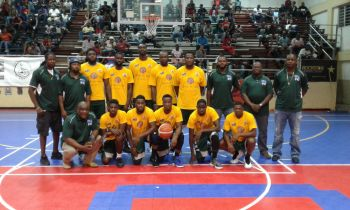 Bayside Blazers were the official representatives of the British Virgin Islands at the 2018 Battle of the Fittest Tournament in St. Maarten. Photo: Team of Reporters