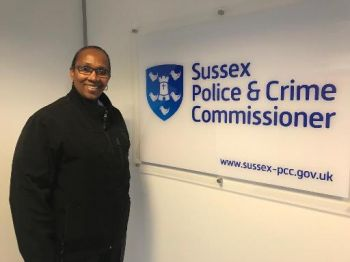 Superintendent Jacqueline E. Vanterpool while at the Sussex Police Command Centre. Photo: RVIPF