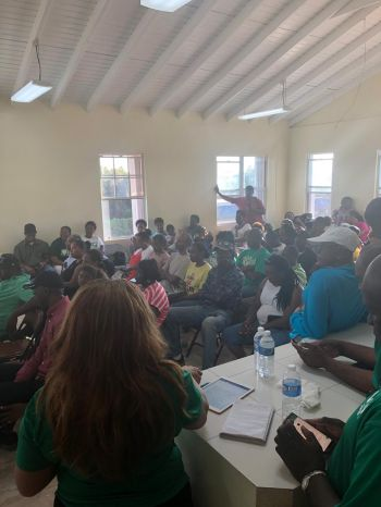 The VIP Youth Forum on Virgin Gorda, follows on a similar activity held the previous night Sunday, January 20, 2019, on Sister Island, Anegada(pictured here). Photo: Team of Reporters