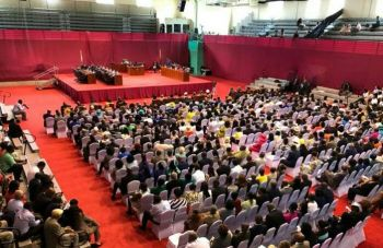 With a crowd of over 700 plus people on March 12, 2019, it was the First Sitting of the First Session of the Forth House of Assembly (HoA) that saw 7 new VIP members out of 12 in the HoA being sworn into office and a New Speaker being elected and also sworn in. Photo: Facebook