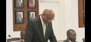 Minister for Natural Resources, Labour and Immigration Honourable Vincent O. Wheatley (R9) has disclosed that the Virgin Islands processed thousands of work permits just five months into 2019, which he said is a clear indication that the territory's economy is on the move. Photo: VINO