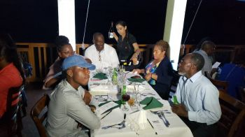 On Wednesday June 12, 2019 under the management of the BVI Chamber of Commerce and Hotel Association (BVICCHA), the National Culinary team staged their second practice dinner of a cocktail and a three course meal for at the Tropical Fusion Restaurant, West End, Tortola. Photo: Team of Reporters