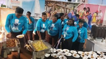 The Virgin Islands (VI) Culinary Team at the 2019 Taste of the Caribbean event. Photo: Team of Reporters