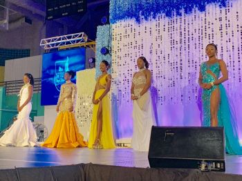 The 5 contestants of the 2019 Miss BVI Pageant. Photo: Team of Reporters