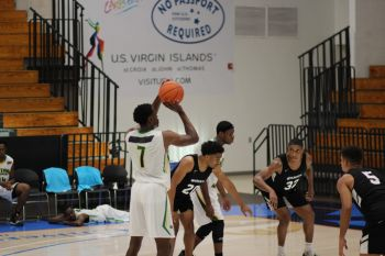 The Senior National Basketball Team of the [British] Virgin Islands has lost the first two games in the Paradise Jam Tour in St Thomas, US Virgin Islands (USVI). Photo: Team of Reporters