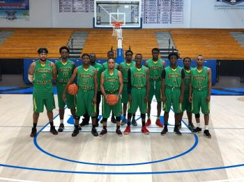 The Virgin Islands National 'All Stars' Basketball Team has been gaining valuable experience at the Paradise Jam Tour in St Thomas, US Virgin Islands (USVI), playing against collegiate level Division One teams from the United States of America (USA). Photo: Team of Reporters