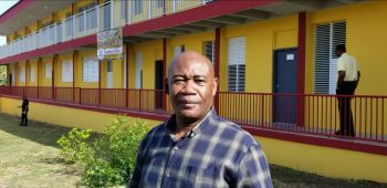Principal of the Bregado Flax Educational Centre- Secondary Division, Mr Hilroy A. George said there has been a significant increase in the number of student enrolment at the institution and senior students will still have to be utilising classrooms at the H. Lavity Stoutt Community College (HLSCC) on Virgin Gorda. Photo: VINO