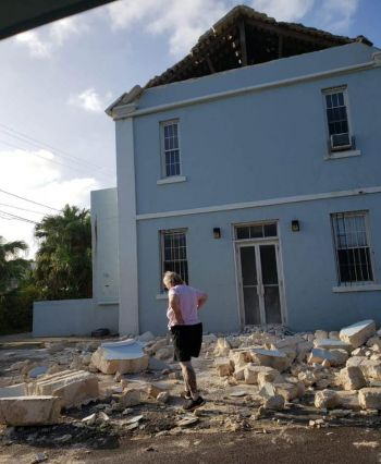 Damages from Hurricane Humberto in Bermuda. Photo: Team of Reporters
